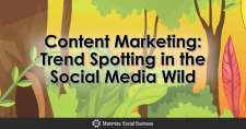 Content Marketing: Trend Spotting in the Social Media Wild