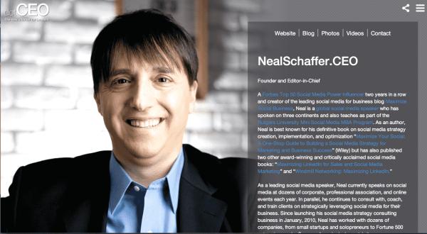 neal schaffer dotCEO