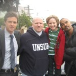 Eric Close, Director Edward Allen Bernero, Maxim Knight, and Shemar Moore