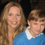 "Max with Miss Lauralee Bell, writer/director/executive producer of ""Family Dinner"""