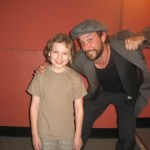 Max with Mr. Noah Wyle at Young Playwrights Festival