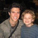 "Maxim Knight & Drew Roy on ""Falling Skies"" set"