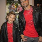 Maxim Knight with Matt Cohen at the Trigger Premiere Supernatural