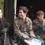 On-set-with-Drew-Roy-and-Connor-Jessup