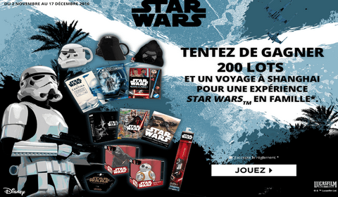 e leclerc grand jeu star wars rogue one 200 lots star wars gagner. Black Bedroom Furniture Sets. Home Design Ideas