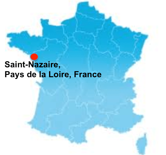 map st nazaire