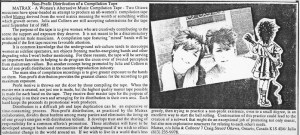 1985 MRR Article