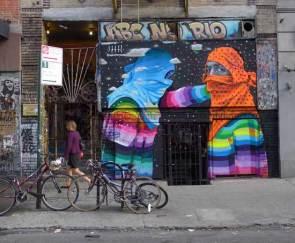 New mural by Dasic Fernandez, 2014 (photo by ABC No Rio)