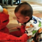 Hug it out to feel better. Enter to win a Big Hugs Elmo for your family (US & CAN)