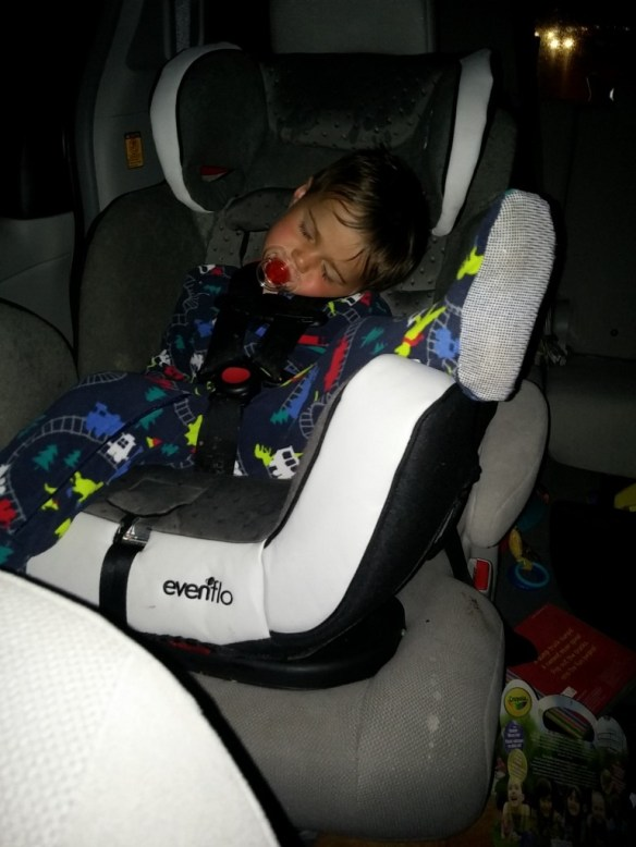 evenflo car seat for road trips