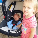 The perfect newborn car seat. Graco SnugRide Click Connect 35 review & giveaway (Canada)