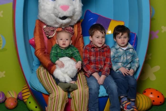 Our Easter Bunny Visit at Upper Canada Mall