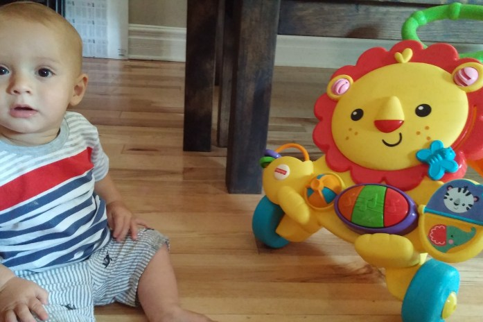 Enjoying amazing mommy moments from birth and beyond with Fisher Price
