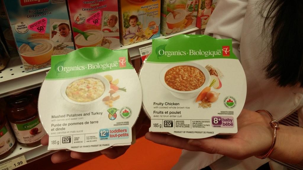 pc organics hot baby food