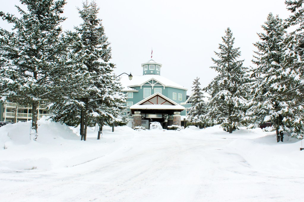 Deerhurst Resort in winter