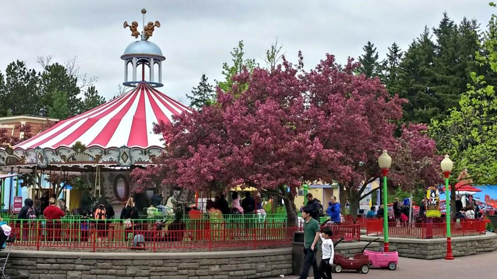 cw carrousel