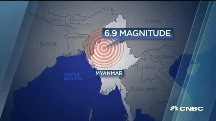 One more Earthquake! Mother Earth is saying something