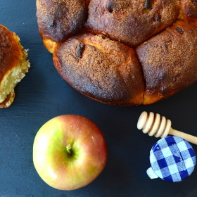 """""""Apples and Honey"""" Challah for Rosh Hashanah. So good, your guests will love it and ask you: May I Have That Recipe?"""