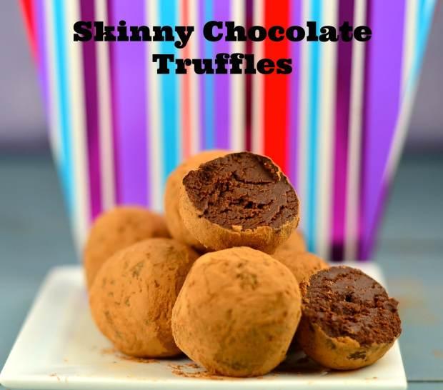 skinny chocolate truffles 50 calories per truffle