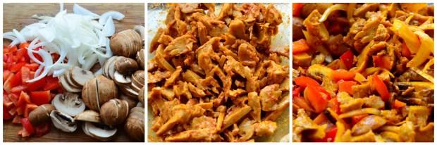 "Meatless ""Steak"" Sandwich with Tahini #vegan #vegetarian #spices #middleEast #sandwich"