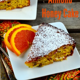 ORANGE ALMOND HONEY CAKE - #Cake #dessert #orange #honey #dairy Free #gluten free #almonds #kosher #holidays #Rosh HaShanah