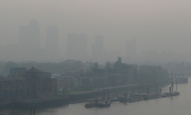 Boris Johnson has been accused of leaving it to the next Mayor to clean up London's air.