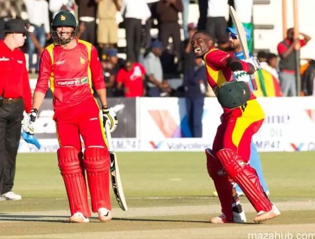 Zimbabwe vs India 1st ODI 10th July 2015
