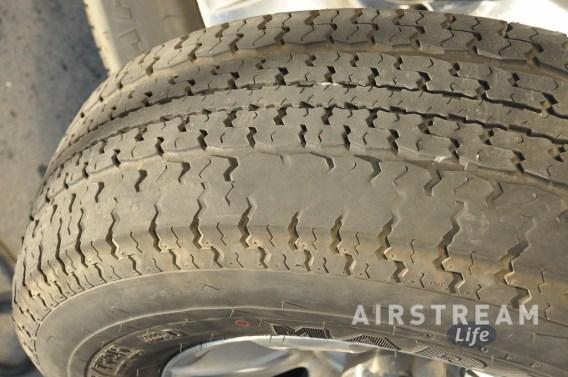Broken belt in ST tire