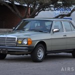 Mercedes 300D on day of arrival