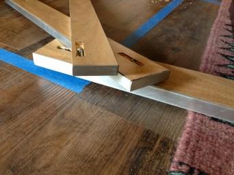 Aluminum trimmed edges