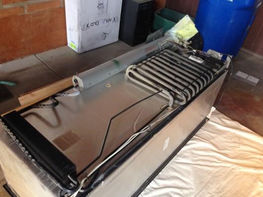 Refrigerator ready to gut