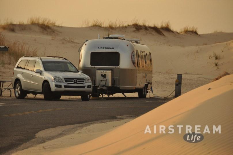 Monahan Sand Dunes TX Airstream Mercedes