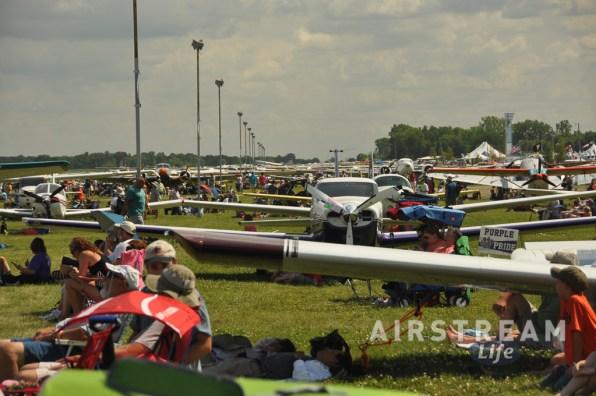 OSH airplane parking