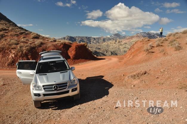 Death Valley Red Pass Mercedes