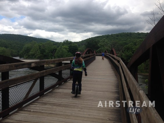 Emma Ohiopyle GAP bridge