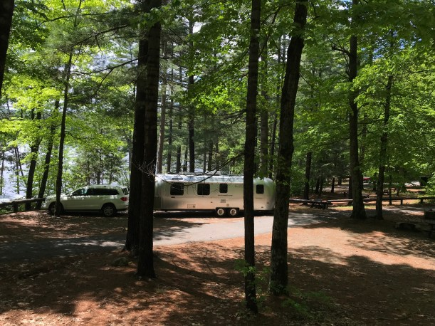 Eagle Point campground Pottersville NY Airstream2
