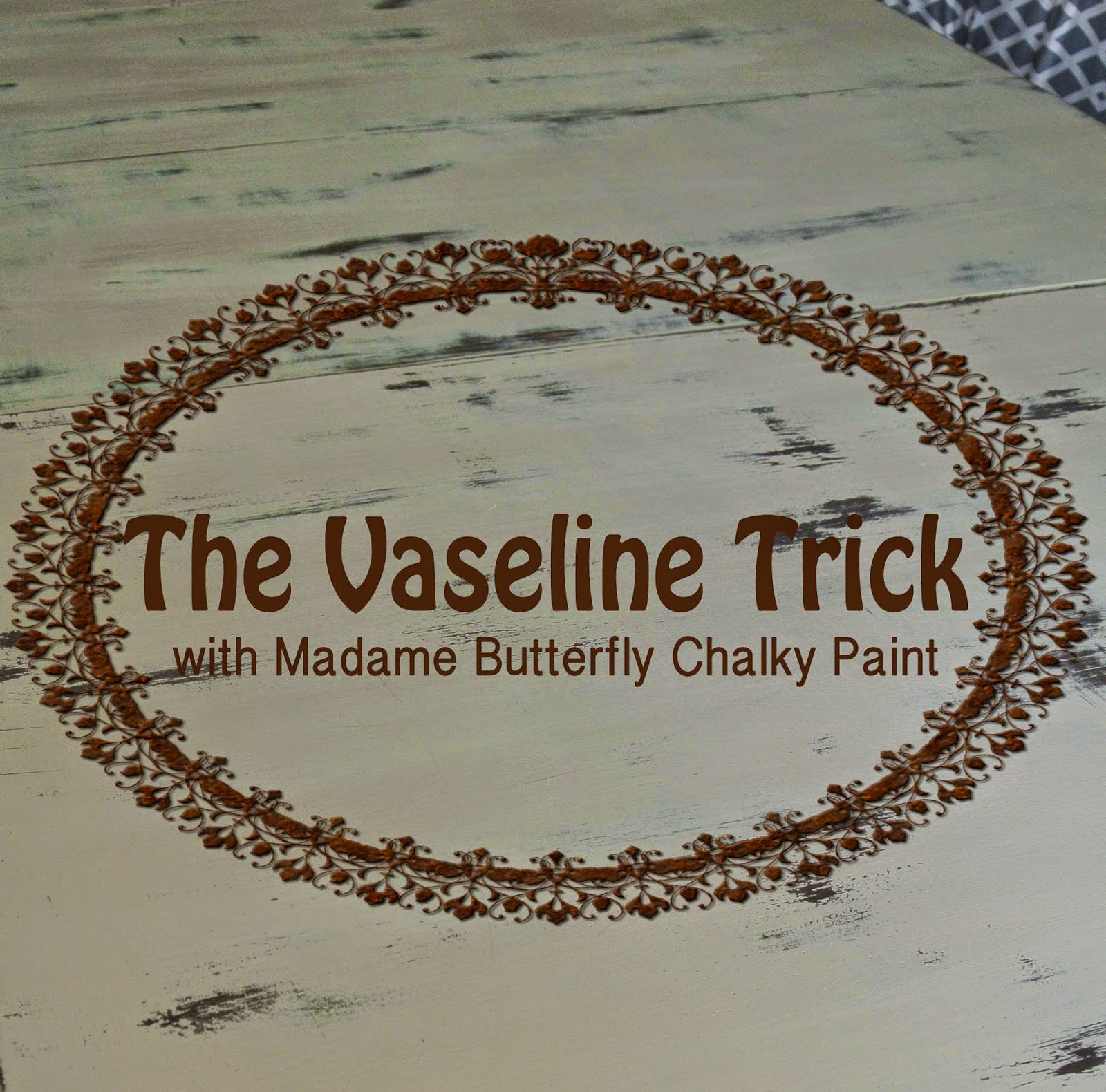 vaseline trick painting kitchen table vaseline trick chippy distressed farmhouse rustic kitchen table furniture ideas