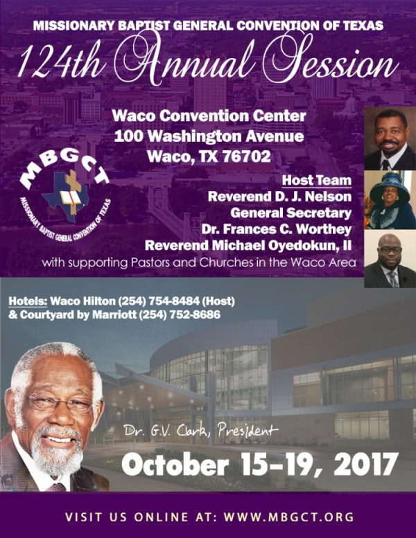 2017 Convention Flyer