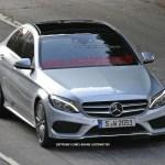 2015 Mercedes-Benz C-Class Spy Shot (17)
