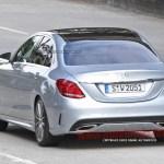 2015 Mercedes-Benz C-Class Spy Shot (20)