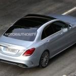 2015 Mercedes-Benz C-Class Spy Shot (4)