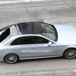 2015 Mercedes-Benz C-Class Spy Shot (5)
