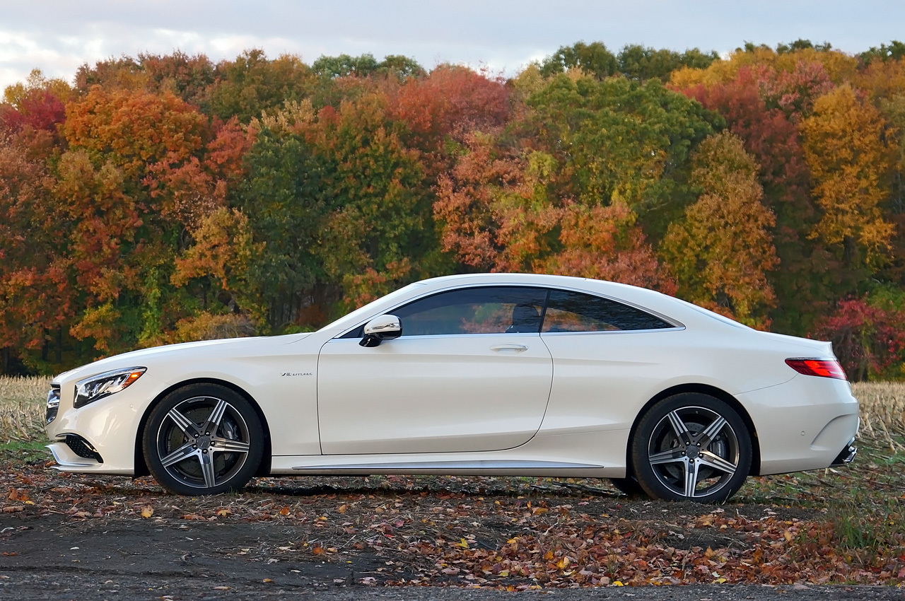 autoblog 39 s quick spin in the s63 amg coupe mbworld. Black Bedroom Furniture Sets. Home Design Ideas