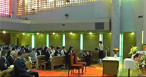 聖歌の練習