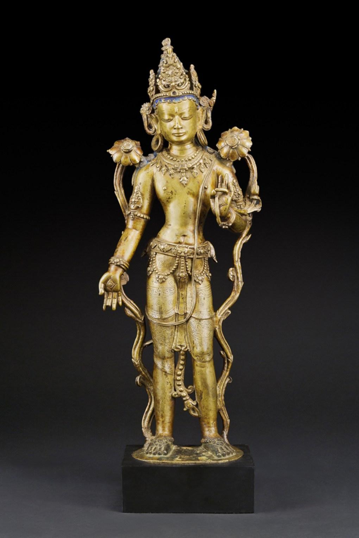 bronze, sculpture, Padmapani