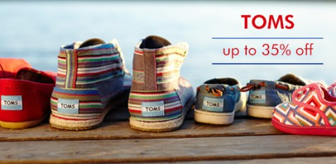TOMS shoes for kids, women and men!