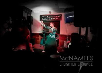 Owen Colgan - Pulling Some ancient moves McNamees Laughter Lounge