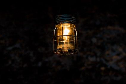 hanging lantern close-up