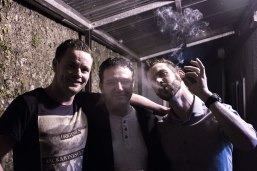 Mocky, Adrian and Smoker in McNamee's