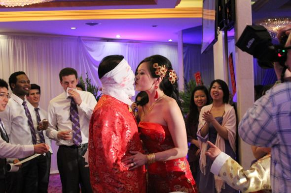 Christina and Ron's Traditional Chinese and Indian Wedding
